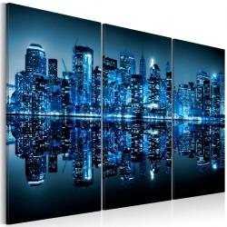 Obraz - Niebieski Manhattan