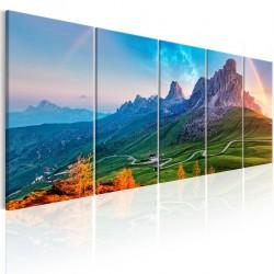 Obraz - Tęcza w Alpach I