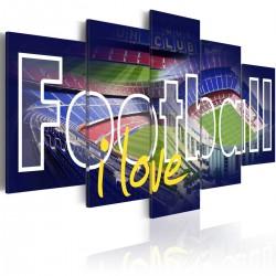 Obraz  Football moja miłość