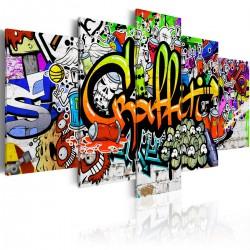 Obraz  Artystyczne graffiti