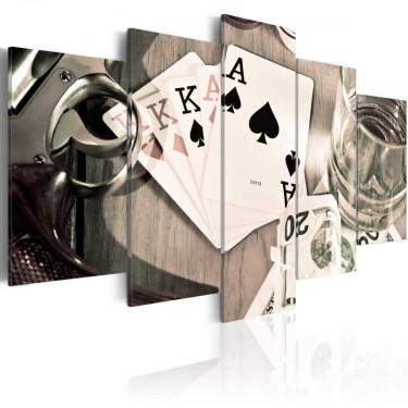 Obraz  Pokerowa noc