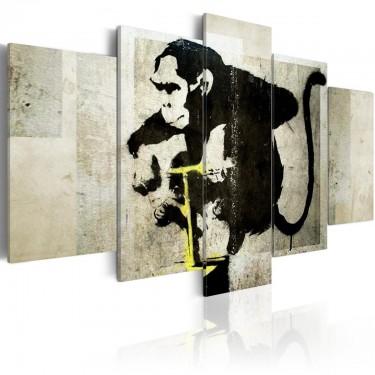 Obraz  Monkey TNT Detonator (Banksy)