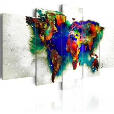 Obraz  Zielona planeta