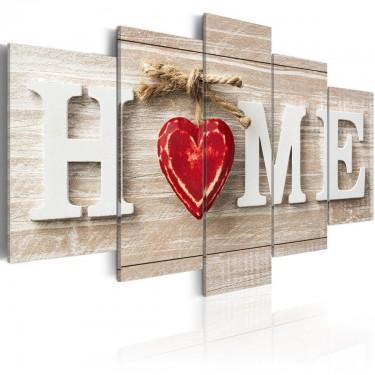 Obraz  Home Dom miłości