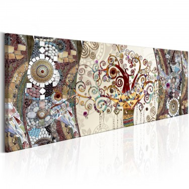 Obraz  Mozaikowa abstrakcja