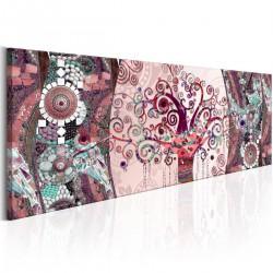 Obraz - Różowa abstrakcja