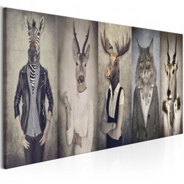 Obraz  Zwierzęce maski