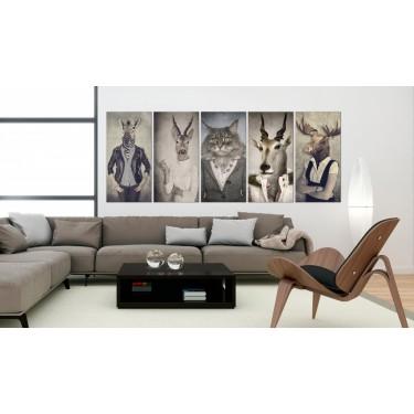 Obraz  Zwierzęce maski I
