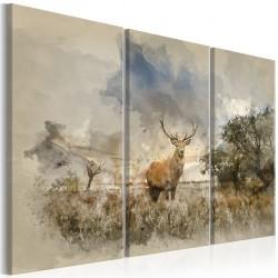 Obraz Jeleń na polu I
