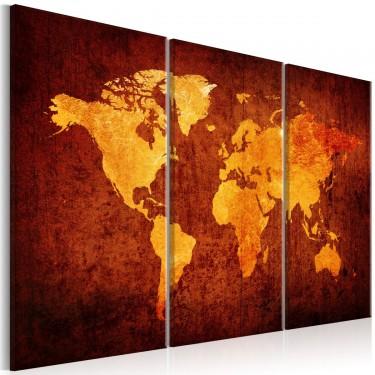 Obraz  Świat pomarańczy