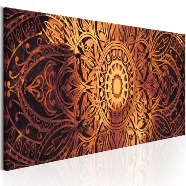 Obraz  Bursztynowa Mandala
