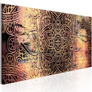 Obraz  Mandala Słoneczna poezja