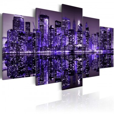Obraz - Deep deep purple - NYC