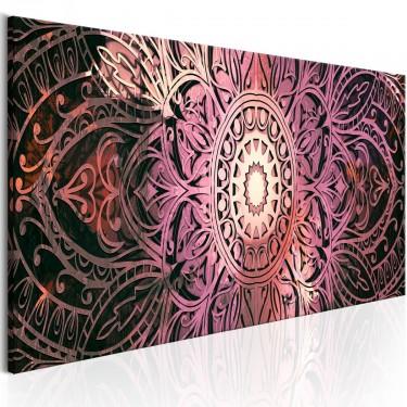 Obraz  Rubinowa Mandala
