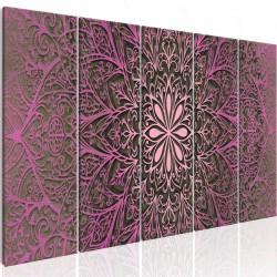 Obraz  Różowa Mandala