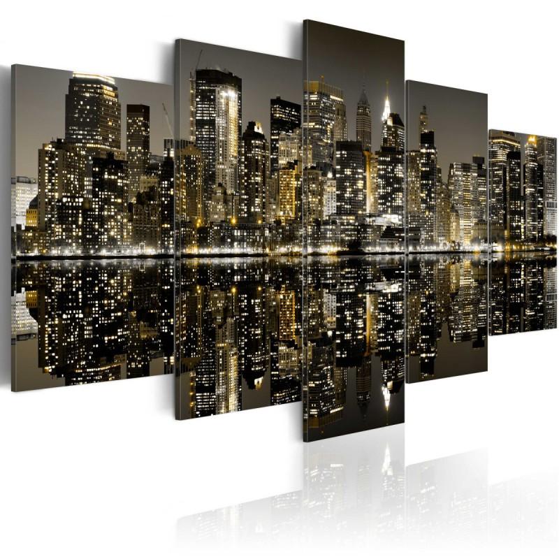 Obraz  Magia nowojorskiej nocy