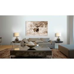 Obraz  Jeleń w sepii
