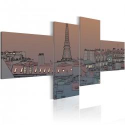 Obraz Zmrok i Paryż