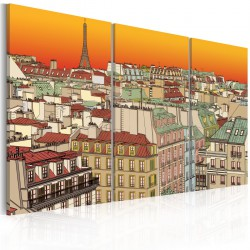 Obraz Promienny Paryż