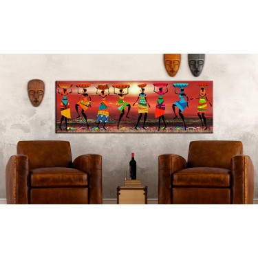 Obraz  Tańczące Afrykanki