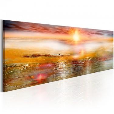 Obraz  Pomarańczowe morze