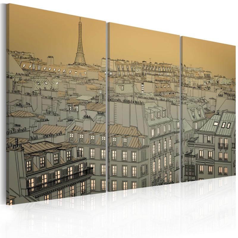 Obraz Ostatnia chwila dnia Paryż