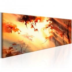 Obraz  Złoty las