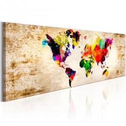Obraz  Świat w akwarelach