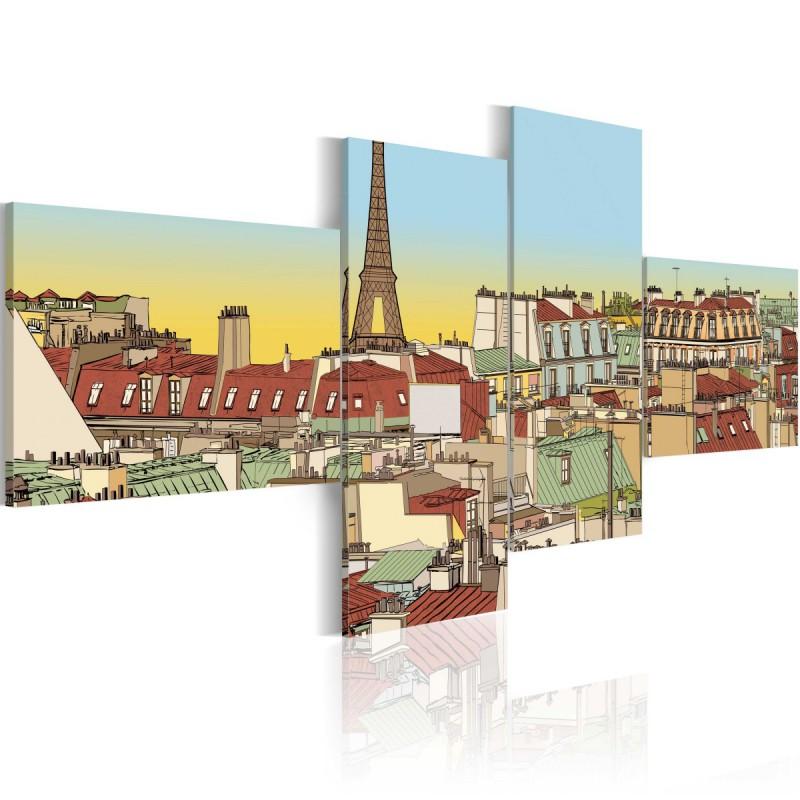 Obraz  Bajkowy Paryż