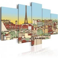 Obraz Idylliczny obrazek Paryża