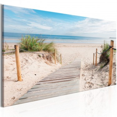 Obraz  Zachwycająca plaża