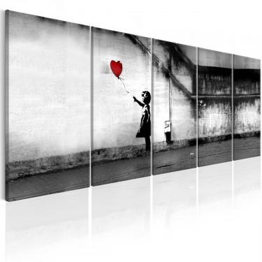 Obraz  Banksy Uciekający balon