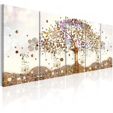 Obraz  Olśniewający drzewo