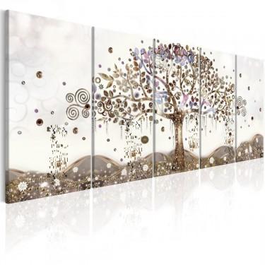 Obraz  Geometryczne drzewo