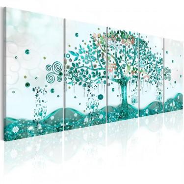 Obraz  Falujące drzewo