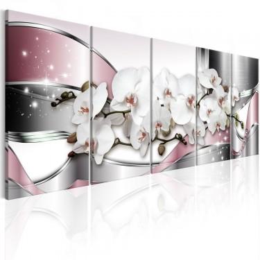 Obraz  Lśniące orchidee