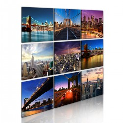 Obraz - Nowy Jork w dziewięciu odsłonach