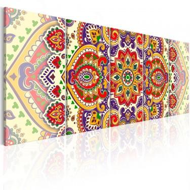 Obraz  Kolorowy ornament