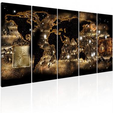 Obraz  Świat nocą