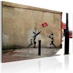Obraz Zakaz gry w piłkę (Banksy)
