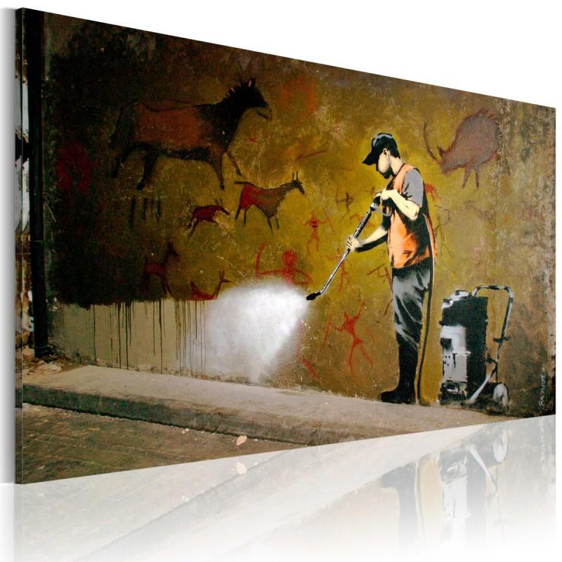 Obraz  Bielenie Lascaux (Banksy)