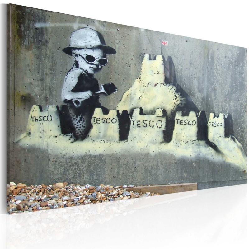 Obraz Zamek z piasku (Banksy)