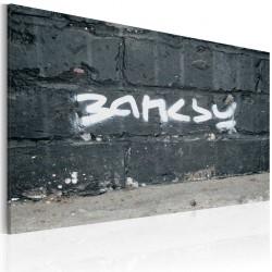 Obraz Banksy podpis
