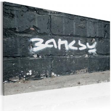Obraz - Banksy: podpis