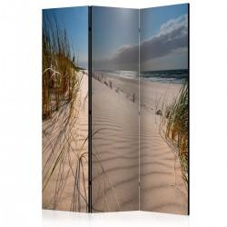 Parawan 3częściowy Plaża w Mrzeżynie [Room Dividers]