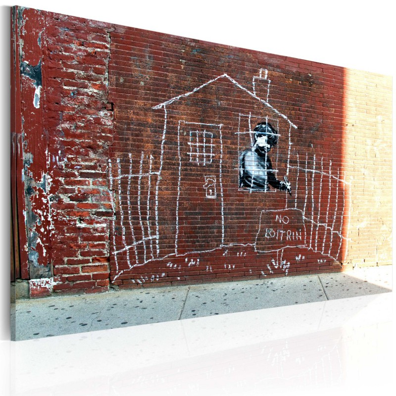 Obraz  Uziemiony (Banksy)