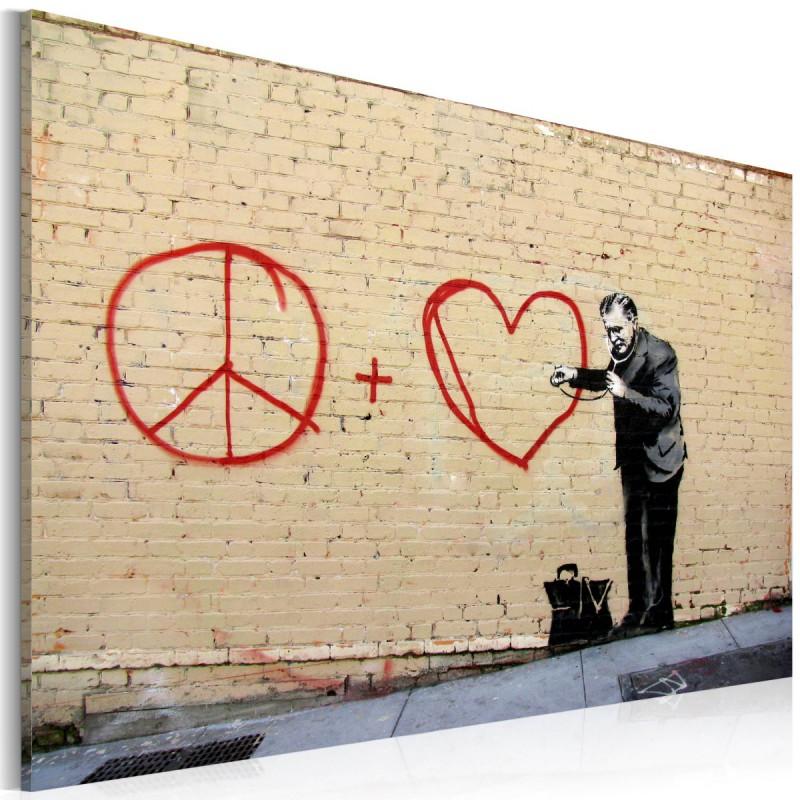 Obraz  Lekarz pacyfista (Banksy)