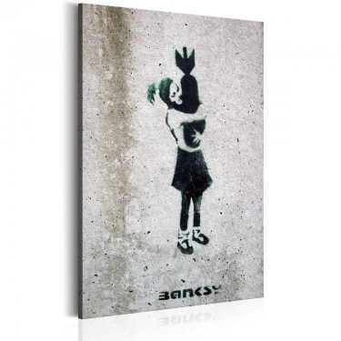 Obraz  Bomb Hugger by Banksy