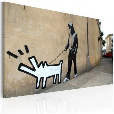 Obraz  Szczekający pies (Banksy)
