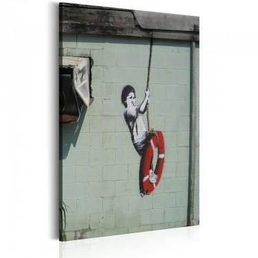 Obraz  Swinger, New Orleans  Banksy
